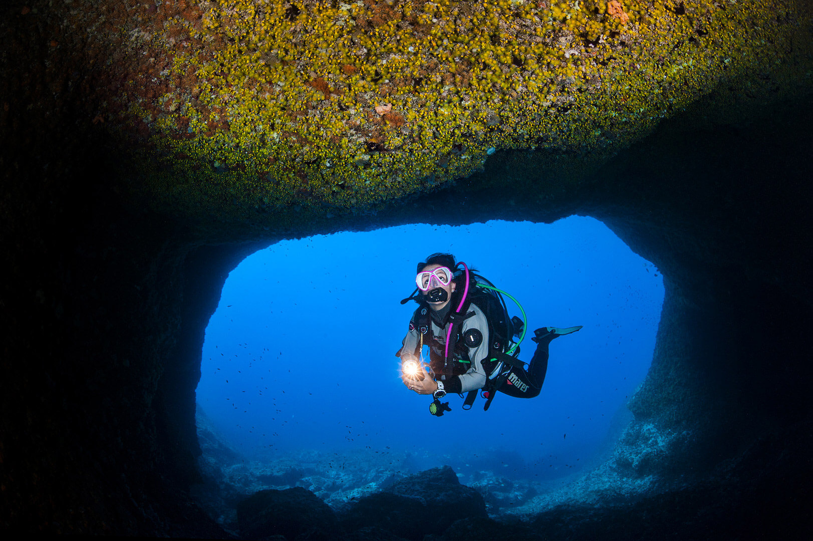 Scuba Travel, Diving holidays. Sardinia, Mediterranean