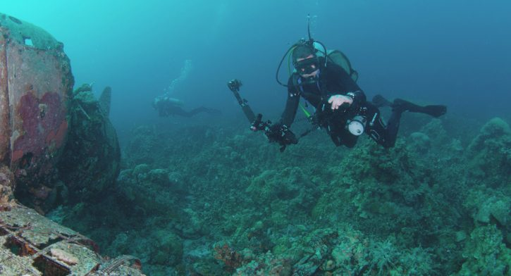 Scuba Travel. diver, underwater photography