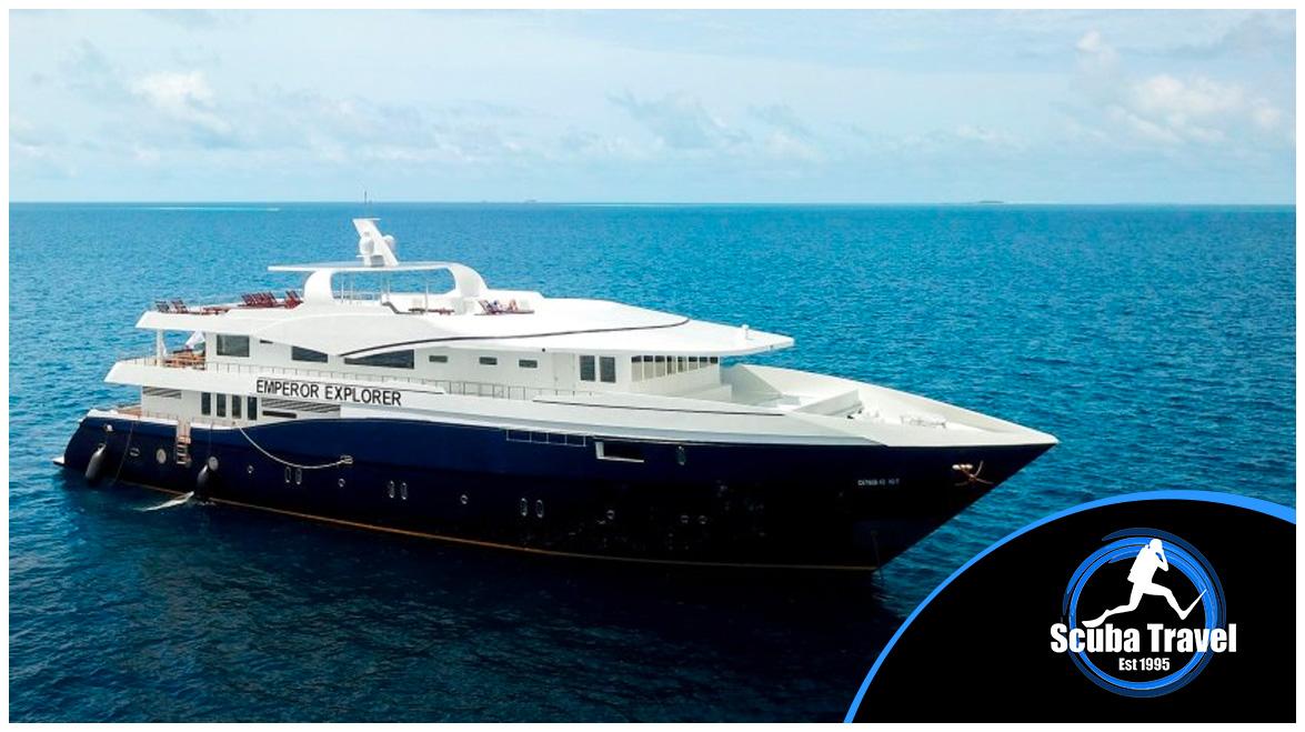 Scuba Travel, Diving holidays, scuba diving, Maldives, Emperor Explorer